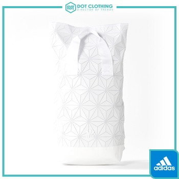 ADIDAS 3D Roll Top Backpack 類三宅一生 鑽石 白 菱格 限量 後背包 雙肩包 BJ9562